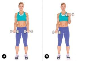 dumbbell arm workout routine (2)