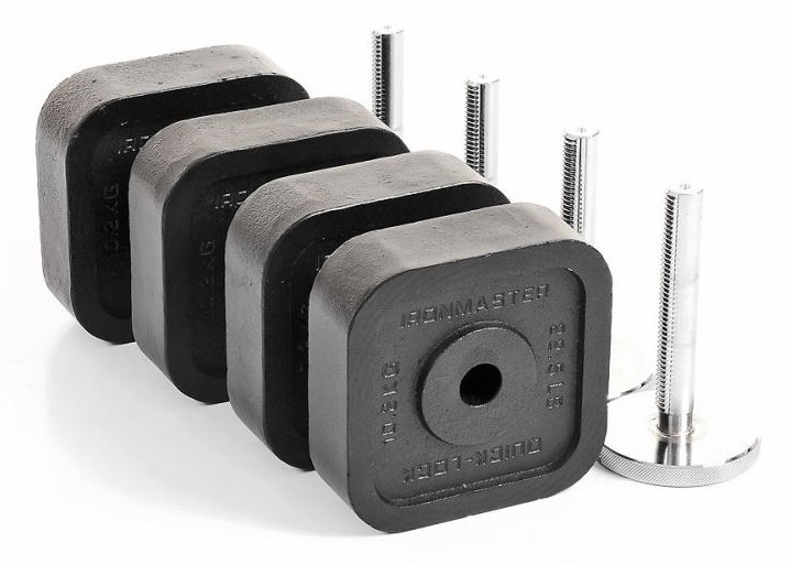 Ironmaster Quick Lock Dumbbell 120 lb Add on Kit