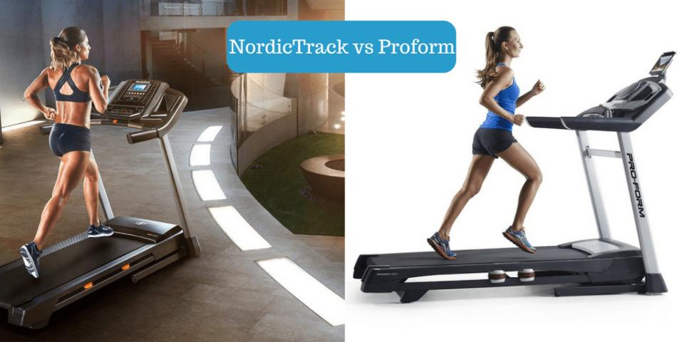 NordicTrack vs Proform treadmills